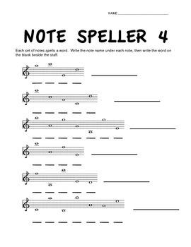 Note Speller Bundle