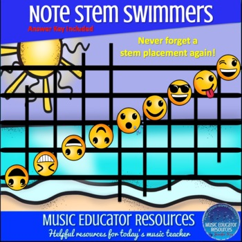 Note Stem Swimmers