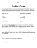 Note Story Project
