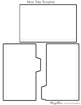 Note Tabs Template