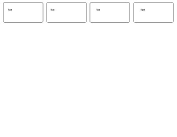 Note Taking Graphic Organizer (MS Word Compatible)