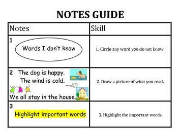 Note Taking Guide