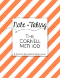 Note Taking - CORNELL METHOD - Lesson Plan & Activities