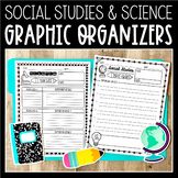 Note-Taking Pages for Science & Social Studies