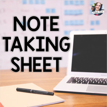 Note Taking Sheet