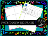 Note-Taking Template