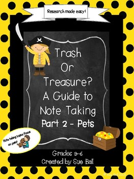 Note Taking - Trash or Treasure Part 2 - Distance Learning and Face to Face