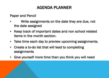 Note Taking and Organization for High School