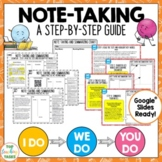 Note-Taking and Summarizing Resource | A Step By Step Guid