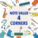 Note Value Four Corners (Music Game)