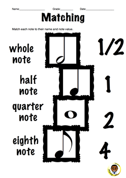 Note Value Matching