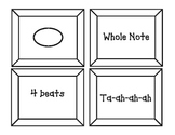 Note Value Matching Game