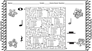 Note Value Maze
