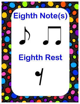 Note Value Posters