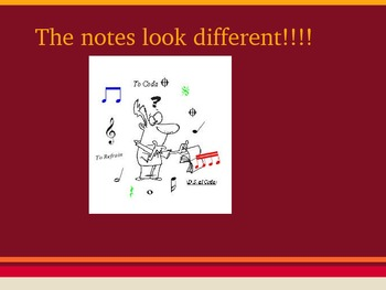 Note Value Power point