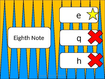 Note Values Match (Quarter Note Version) - Smartboard Activity