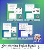 Note Writing Packet Bundle (Sets 1-4) Rubrics and Printables