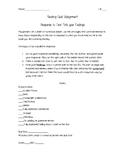 Note Your Feelings - Cafe Worksheet