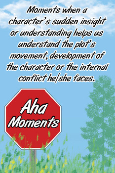Note and Notice - Aha Moments - Anchor Chart