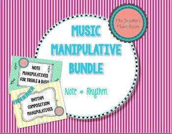 Music Manipulatives Bundle