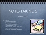 Note-taking: Figures