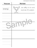 Note-taking Graphic Organizer