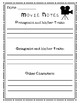 Note-taking Pages for Recounting Books, Movies, or Passages