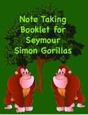 "Note taking booklet for Seymour Simons ""Gorillas"""