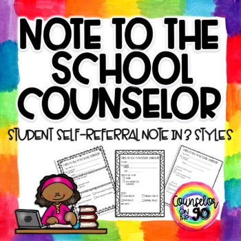 Note to the School Counselor