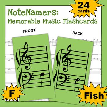 NoteNamers: Memorable Music Flashcards