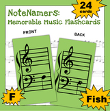 NoteNamers: Memorable Music Flashcards