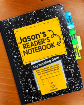 Notebook & Binder Tabs! Perfect for Reading & Writing!