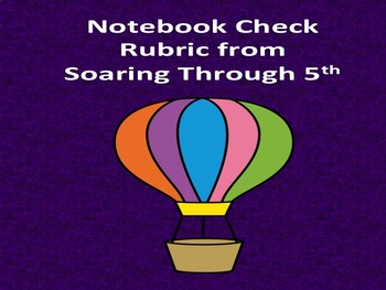 Notebook Check (Editable)