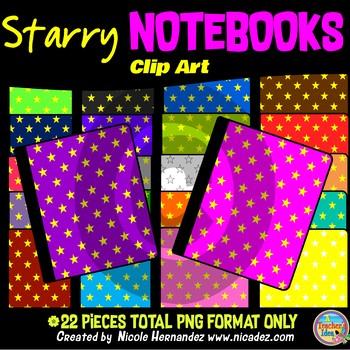 Notebooks Clip Art for Teachers