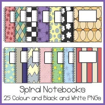 Notebook Clipart