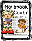 Notebook Cover / Label or Binder Inserts (Black and White)