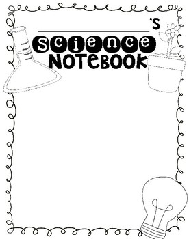 Notebook Cover Labels & Writer's Notebook Design Project