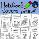 Notebook Covers FREEBIE