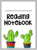 Notebook Covers- Cactus Theme