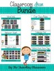 Editable Classroom Decor Bundle {Chalkboard Chevron Polka