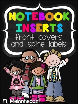 Notebook Covers & Spine Labels