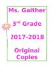 Notebook Coversheets