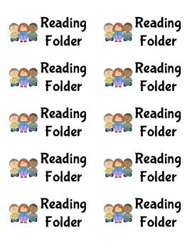 Notebook/Folder Labels