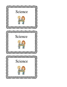 Notebook/Folder labels with pictures