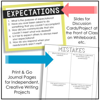 Creative Writing Notebook Journal Project, Complete Unit, FULL YEAR Activity