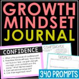 SOCIAL EMOTIONAL & GROWTH MINDSET Writing Prompts:  Creati