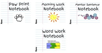 Notebook Labels Bundle
