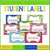 Notebook Labels
