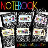 Notebook Labels | Folder Labels | Journal Labels | Composi