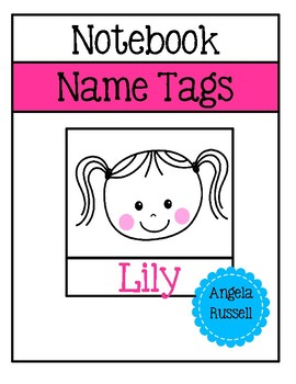Notebook Name Tags